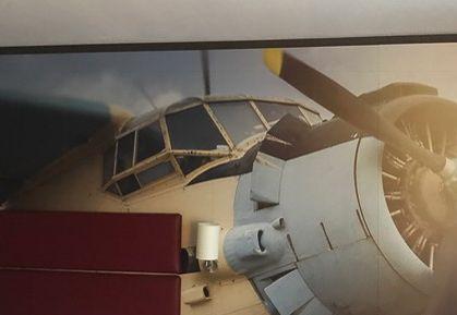 Hoteleonrichtung - Bild von Flugzeug