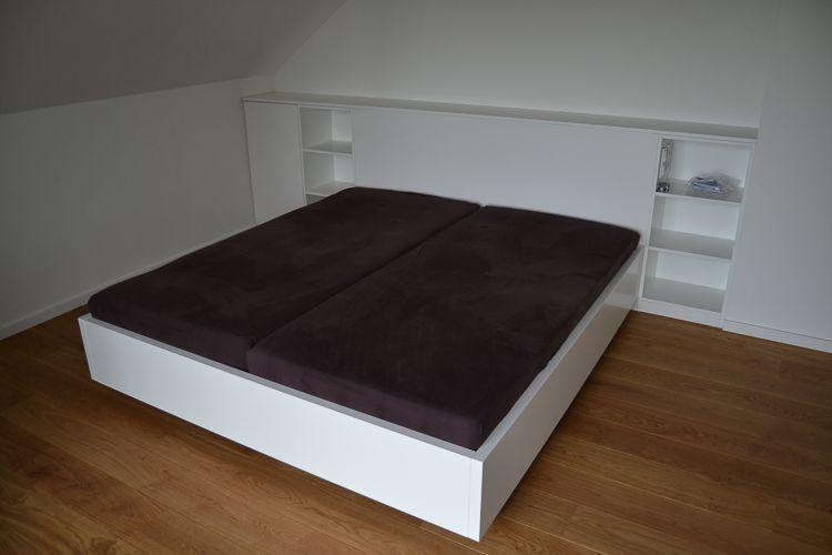 Möbelbau & Innenausbau - Ehebett mit Kopfteil