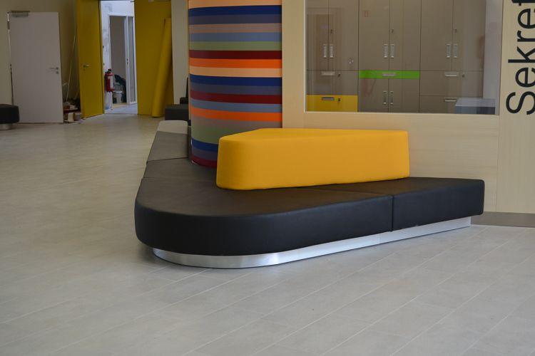 Möbelbau & Innenausbau - Sitzecke Leder bunt